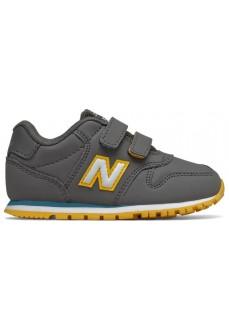 New Balance Kids' IV500 Gray/Yellow Trainers IV500 RGB