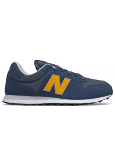 New Balance Men's Gm500 Navy Blue/Yellow Trainers GM500 VC1