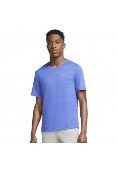 Nike Men's Miler Top Blue CU5992-430   Men's T-Shirts   scorer.es