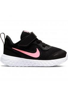 Zapatillas Niño/a Nike Revolution 5 Gris/Fucsia BQ5673-015