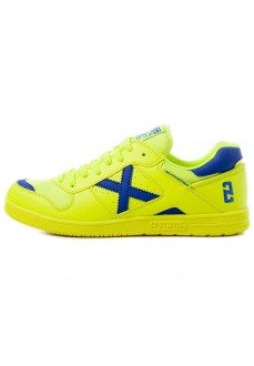 Munich Men's Trainers Continental V2 Yellow/Blue 4104012 | Men's Football Boots | scorer.es
