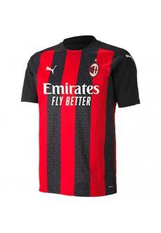 Camiseta Puma 1ª Equipación AC Milan Negro/Rojo 757277-01