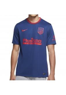Camiseta Hombre Nike 2º Atletico de Madrid Azul/Rojo CD4223-491