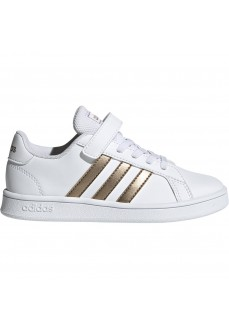 Zapatillas Niño/a Adidas Grand Court Blanco EF0107