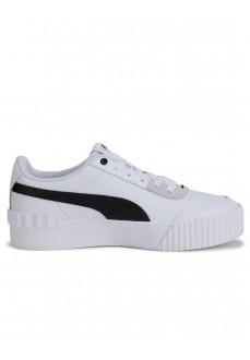 Zapatillas Mujer Puma Carina Lift Blanco/Negro 37303-02