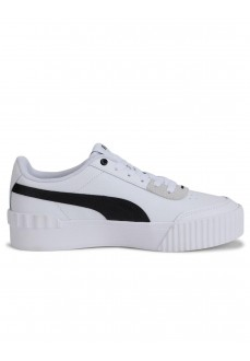 Puma Women's Trainers Carina Lift White/Black 37303-02