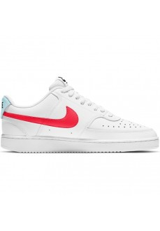 Nike Women's Court Vision Low White/Red Trainers CD5434-106