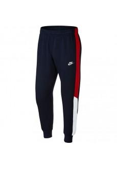 Pantalón Largo Hombre Nike Sportswear Club Marino/Rojo CU4377-451
