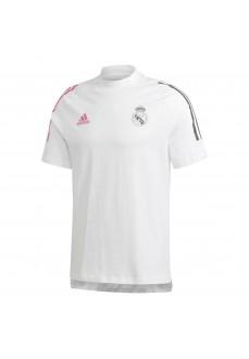 Camiseta Hombre Adidas Real Madrid Tee Blanco FQ7872