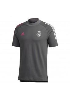 Adidas Men's Real Madrid Tee T-Shirt Gray FQ7871
