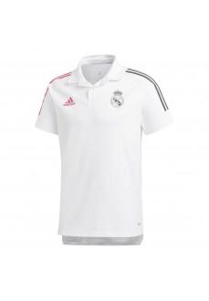 Adidas Men's Polo Shirt Real Madrid 2020-2021 White FQ7858