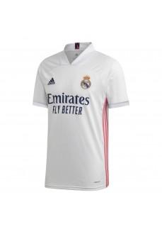 Camiseta Hombre Adidas Real Madrid 1ª 2020/2021 Blanco FM4735