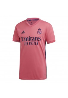 Camiseta Hombre Adidas Real Madrid 2ª 2020/2021 Rosa GI6463