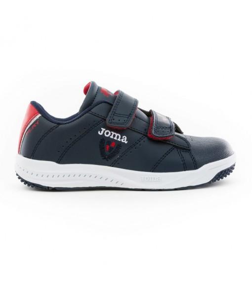 Joma Kids' W.Play Jr 2053 Navy Blue/Red Trainers W.PLAYW-2053 | Kid's Trainers | scorer.es