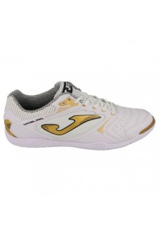 Joma Men's Dribling 2022 White/Gold Trainers DRIW.20200.IN