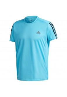 Camiseta Hombre Adidas Run It Tee 3S Azul GL8929 | scorer.es