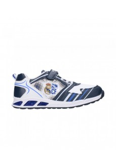 Real Madrid Kids' White/Navy Blue Trainers S22953I