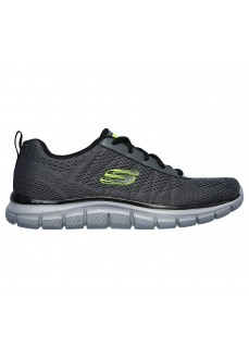 Skechers Men's Track Moulton Gray Trainers 232081 CCBK