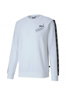Puma Men's Amplified Crew Neck Sweatshirt White 583513-02
