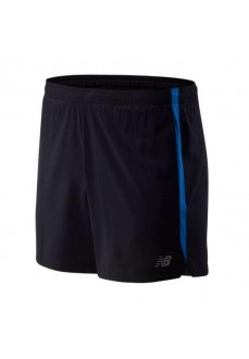 "New Balance Shorts Accelerate 5"" MS93187 Black COBALTO 