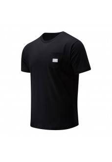 Camiseta New Balance Athletics Pocket MT01567 BLACK | scorer.es
