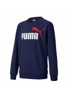 Sudadera Niño/a Puma Essential Col Crew Marino 583231-06 | scorer.es