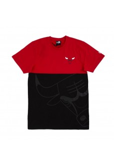 Camiseta Hombre New Era Chicago Bulls Negro/Rojo 12487535