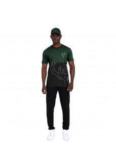 Camiseta Hombre New Era The League Milbuc Negro/Verde 12487533 | scorer.es