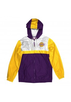 Sudadera mitchell & ness Los Angeles Lakers FLZPAJ19028-LALPURP