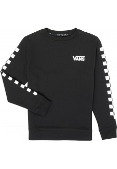 Vans Boy's Black Sweatshirt By Exposition Check VN0A3HWCBLK1