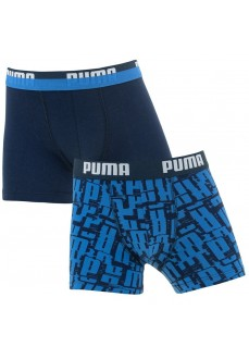 Boxer Puma Niños Logo AOP 2P Azules | scorer.es