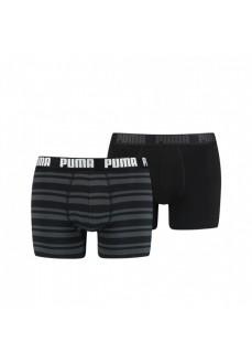 Boxer Puma Heritage Stripe Blacks | Ropa Interior | scorer.es