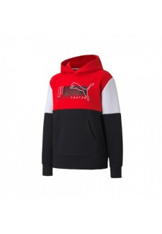 Sudadera Niño/a Puma Alpha Hoodie Rojo 583195-11