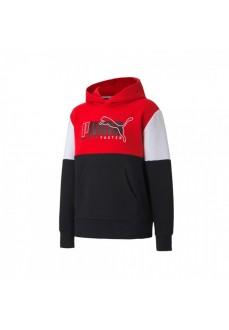 Puma Kids' Alpha Hoodie Red 583195-11 | Kids' Sweatshirts | scorer.es