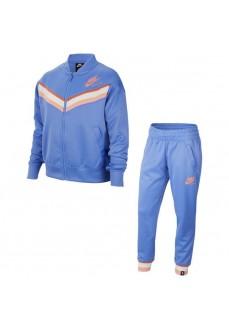 Nike Girl's Tracksuit Heritage Trk Suit Blue CU8294-478 | Tracksuits for Kids | scorer.es