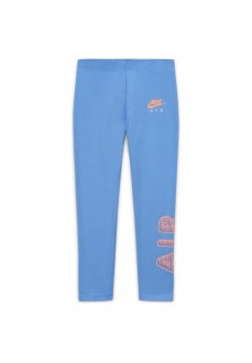 Nike Girl's Leggings Air Favorites Blue CU8299-478