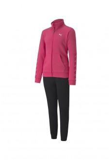 Puma Kids' Tracksuit Sweat Suit Pink/Black 583318-25 | Tracksuits for Kids | scorer.es