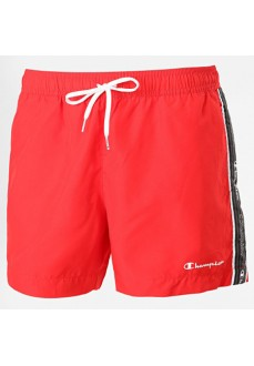 Champion Men's Swimsuit RS046 Red 214668-RS046-HRR | Swimwear for Men | scorer.es