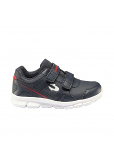 John Smith Kids' Rolis 20I Navy Blue/Red Trainers