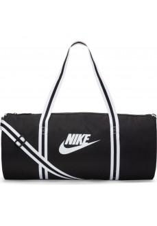 Nike Heritage Bag Duff Black/White BA6147-010 | Bags | scorer.es