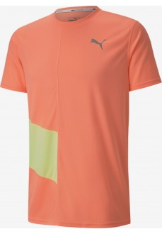 Puma Men's Ignite SS Tee Orange T-Shirt 518585-26