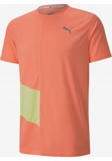Puma Men's Ignite SS Tee Orange T-Shirt 518585-26