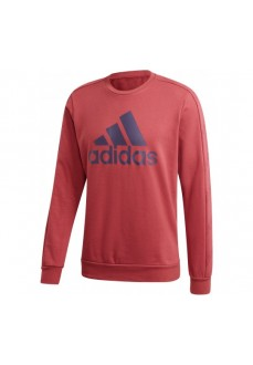 Adidas Men's Favorites Graphic Maroon Sweatshirt Gj6592