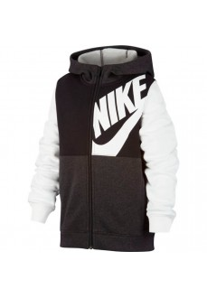 Sudadera Niño/a Nike Sportswear Blanco/Negro CU9221-010