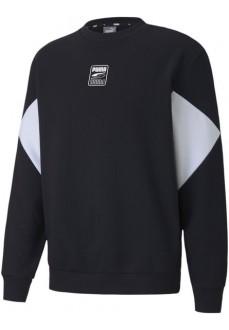 Puma Men's Rebel Half-Zip Sweatshirt Black 584891-01