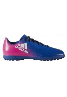 Botas de fútbol Adidas Azul/Rosa