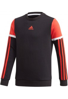 Adidas Kids' Bold Crew Sweatshirt Black/Orange GE0911