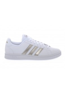 Adidas Kids' Grand Court Base White/Silver Trainers