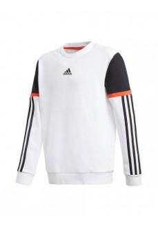 Adidas Kids' Bold Crew Sweatshirt White GF4154 | Kids' Sweatshirts | scorer.es