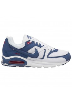 Nike Men's Air Max Command White/Blue Trainers CT1286-100